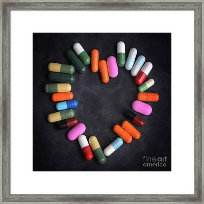 Heart Concept Framed Print by Bernard Jaubert