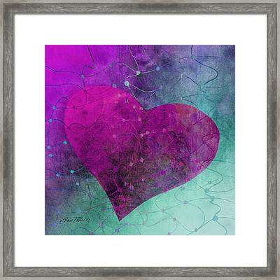 Heart Connections Two Framed Print by Ann Powell