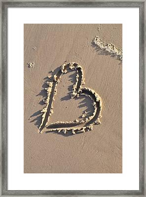 Heart Framed Print by Gynt