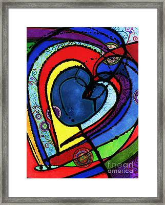 Heart II  Framed Print