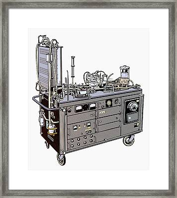 Heart-lung Machine Framed Print by Science Photo Library