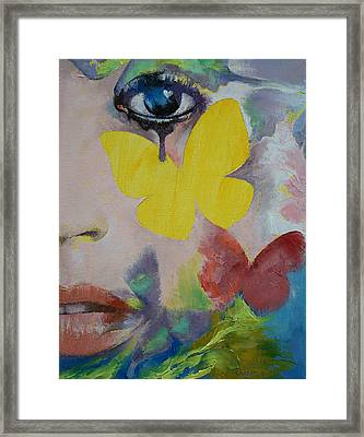 Heart Obscured By The Moon Framed Print by Michael Creese