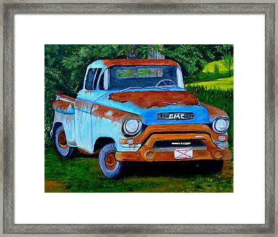 Heart Of Dixie Framed Print by Carol Hickman