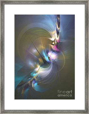 Heart Of Dragon Framed Print