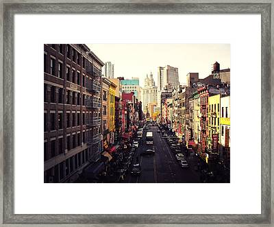 Heart Of It All Framed Print by Vivienne Gucwa