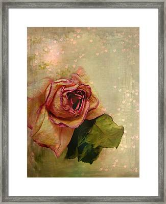 Heart Of My Heart Framed Print by Shirley Sirois