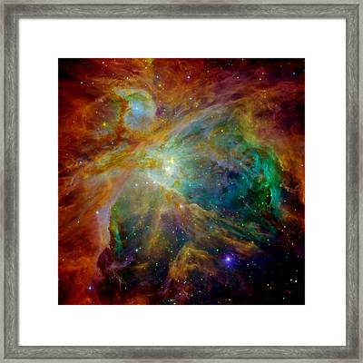 Heart Of Orion Framed Print by Benjamin Yeager