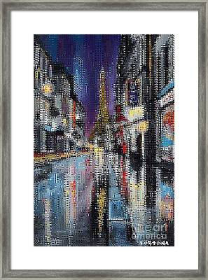 Heart Of Paris Framed Print