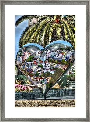 Heart Of San Francisco Framed Print