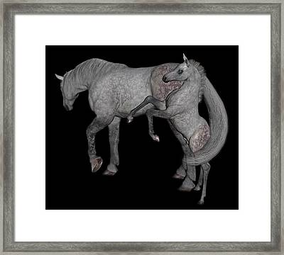 Heart Of The Brood Mare Framed Print by Betsy Knapp