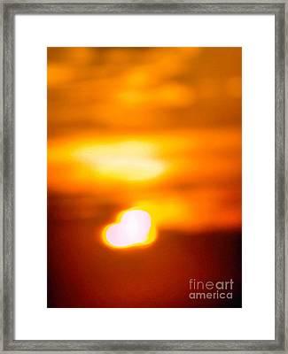 Heart Of The Day Framed Print