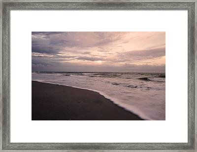 Heart Of The Evening Framed Print