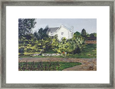 Heart Of The Lakes Framed Print
