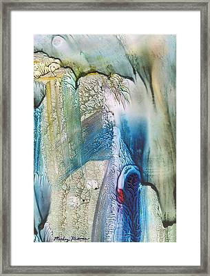 Heart Of The Matter Framed Print by Mickey Krause