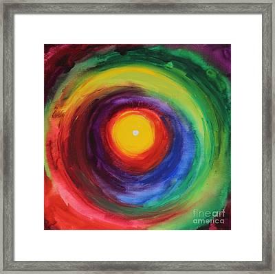 Heart Opening Framed Print