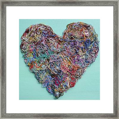 Heart Strings Framed Print