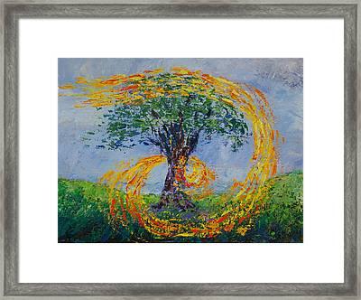 Heart Strings Framed Print by William Killen