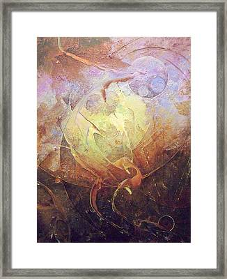 Heartbeat Framed Print by Fred Wellner