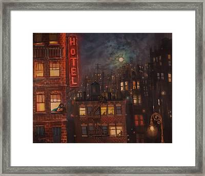 Heartbreak Hotel Framed Print by Tom Shropshire