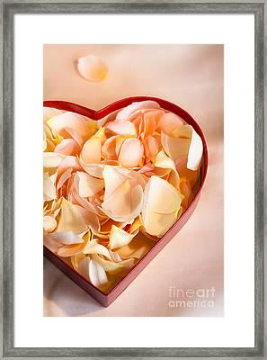 Heartfelt Framed Print by Jan Bickerton