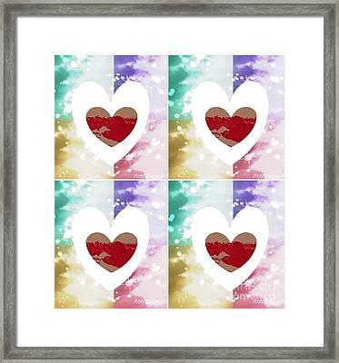 Heartful Framed Print