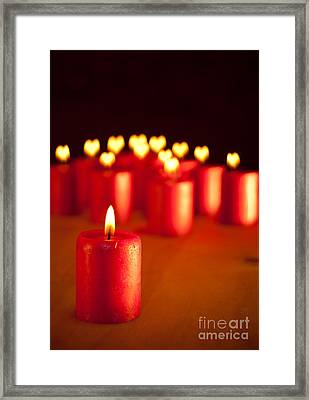 Heartily Warm Christmas Framed Print by Sari ONeal