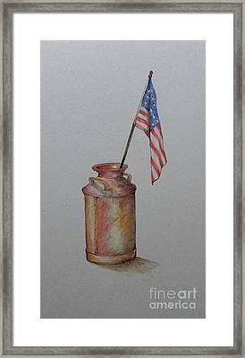 Heartland America Framed Print