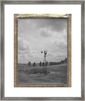 Heartland Memory Framed Print