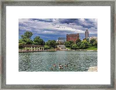 Heartland Of America Park Framed Print