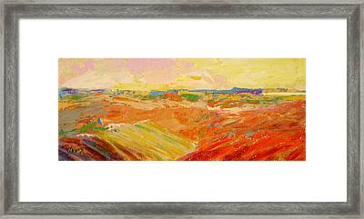 Heartland Series/ Prairies Framed Print by Marilyn Hurst