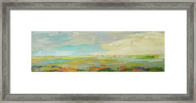 Heartland Series/ Springtime Framed Print by Marilyn Hurst