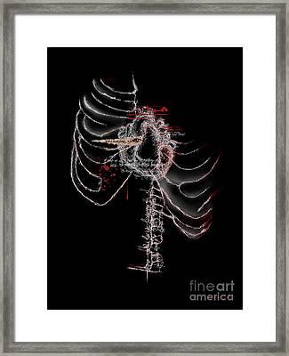 Heart's Desire II Framed Print by Lorena Rivera