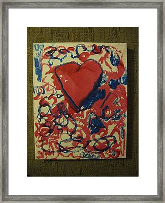 Hearts Entwined Framed Print by Lawrence Christopher