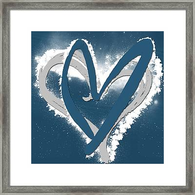 Hearts For Hearts 10 Framed Print by Melissa Smith