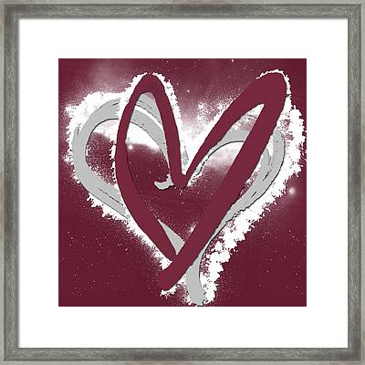 Hearts For Hearts 12 Framed Print by Melissa Smith
