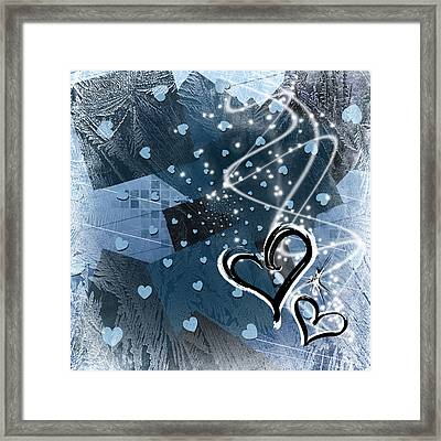 Hearts For Hearts 17 Framed Print by Melissa Smith