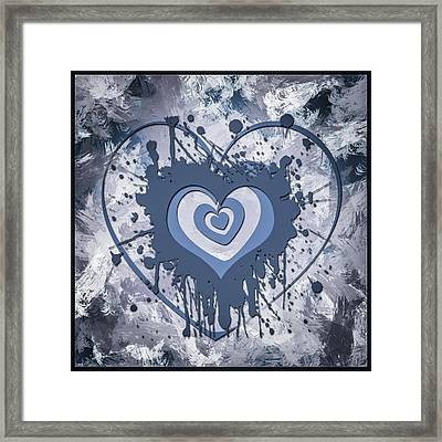 Hearts For Hearts 8 Framed Print