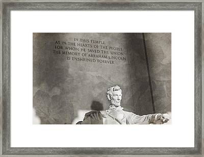 Hearts Of The People Framed Print by Andrew Pacheco