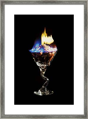 Hearts On Fire Framed Print by Scott Campbell