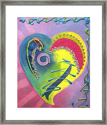 Heartworks Framed Print by Debi Starr