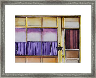 Heat In The Afternoon Framed Print