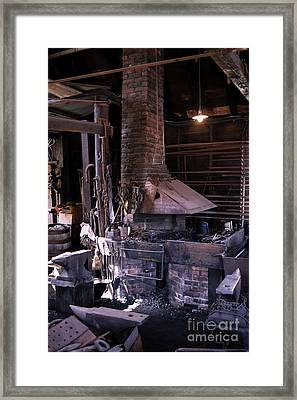 Heat Included Framed Print
