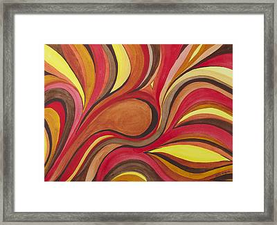 Heat Framed Print by Julie Myers