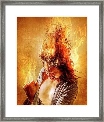 Heat Miser Framed Print