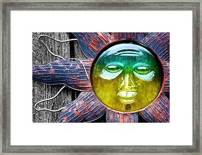 Heat Of The Moment Framed Print by Karen M Scovill