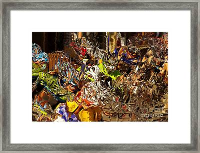 Heat Of The Moment Framed Print
