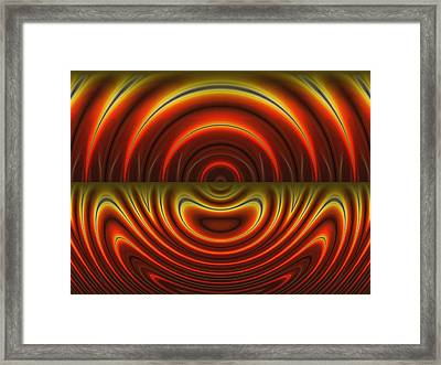 Heat Of The Moment Framed Print by Wendy J St Christopher