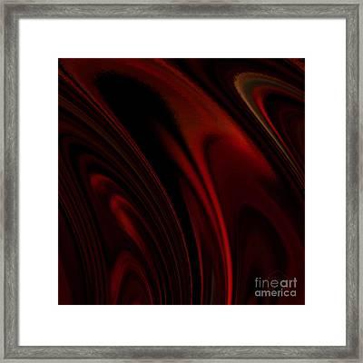 Heat Rings Framed Print by Patricia Kay