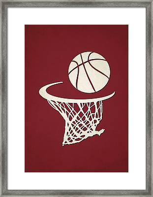 Heat Team Hoop2 Framed Print by Joe Hamilton