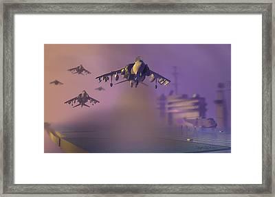 Heat Wave Framed Print by Dieter Carlton